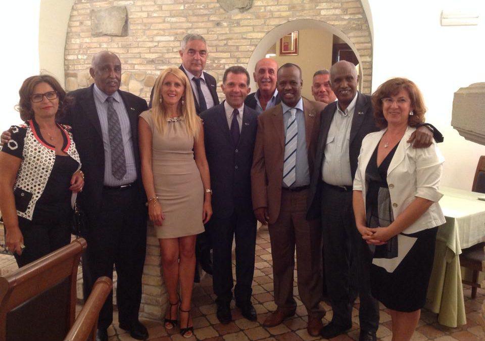 Una delegazione somala visita la città di Penne