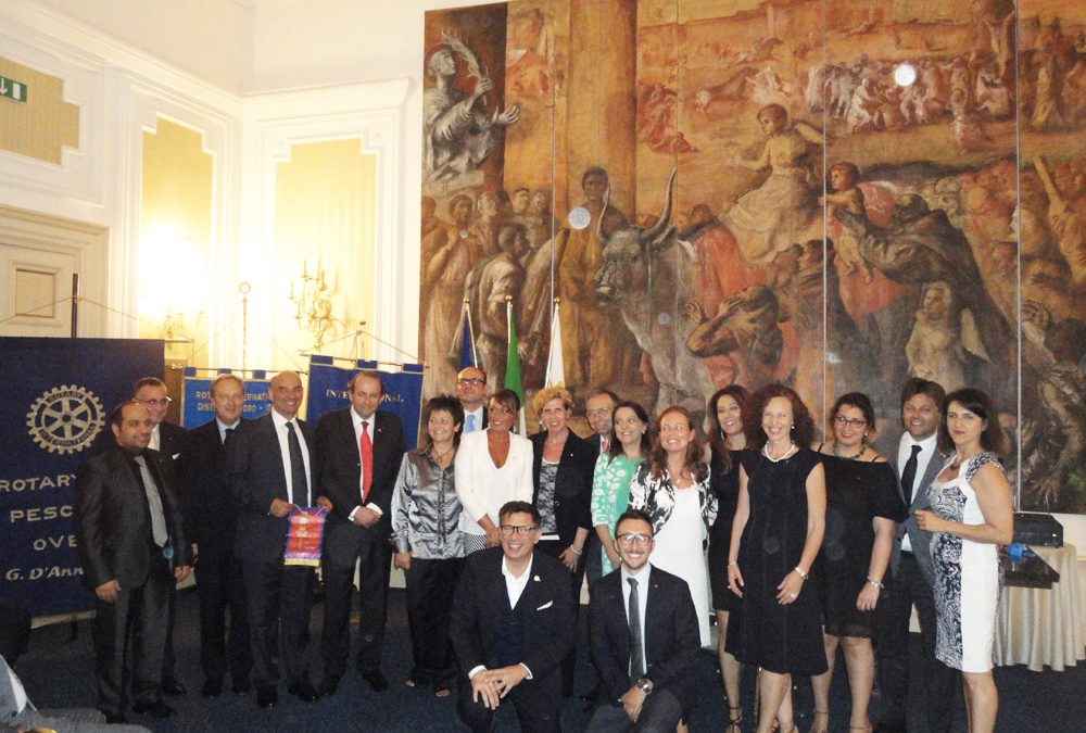 Nasce a Loreto il Rotary Club Vestini