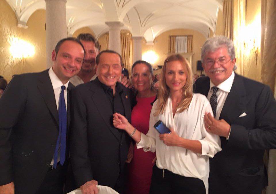Una pennese alla corte di Berlusconi