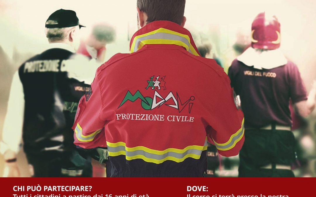 A pianella Corso base per volontari della protezione civile