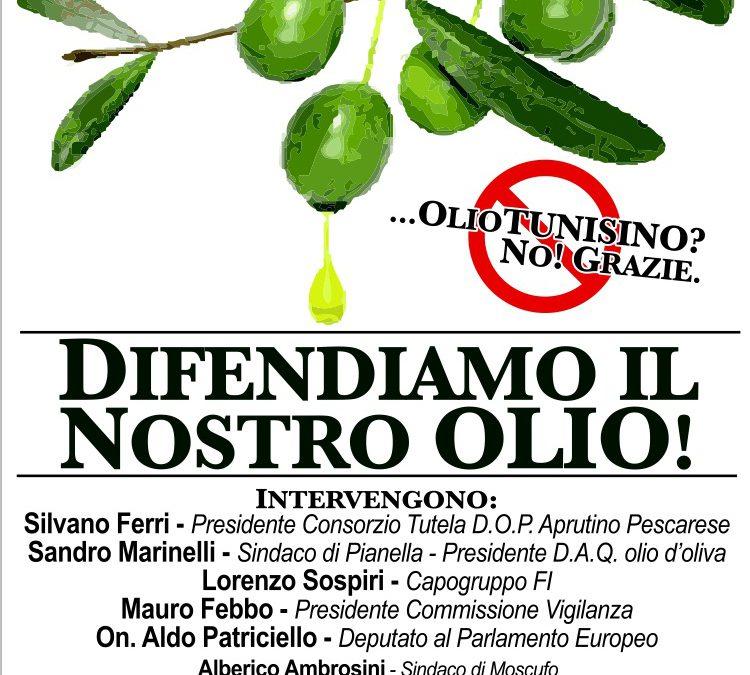 Forza Italia in difesa dell'olio D.O.P.