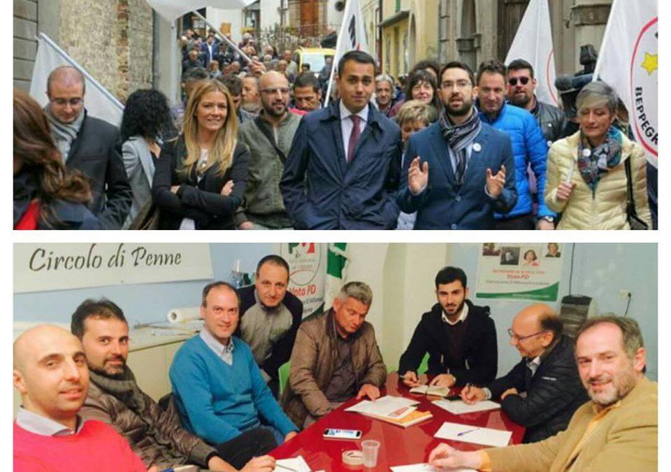Comunali: Di Maio apre la campagna elettorale delle amministrative di Penne