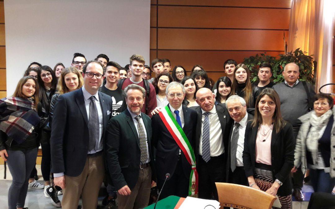 STUDENTI DEL MARCONI A ROMA ALLA GIORNATA DELLA LEGALITA'