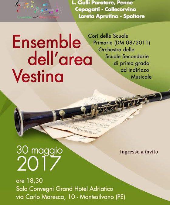 l'Ensemble Vestina in scena a Montesilvano