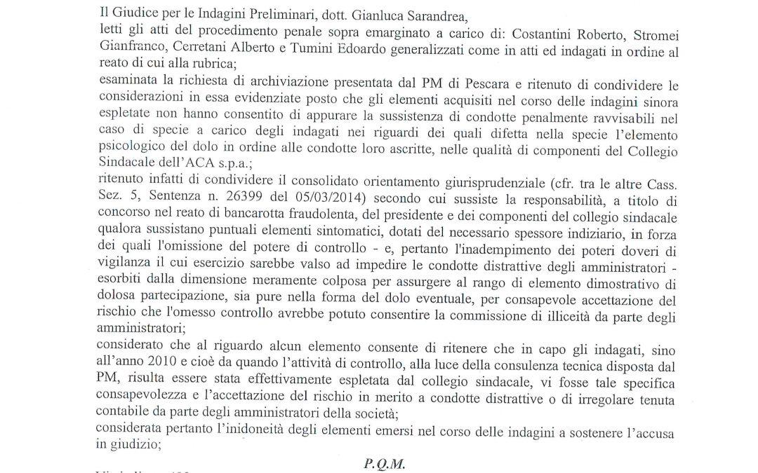 Dissesto finanziario: il Governo premia Penne e Pianella
