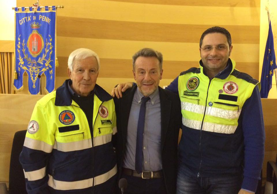 CAMBIO AL VERTICE DELLA PROTEZIONE CIVILE DI PENNE