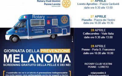 Prevenire il melanoma, un progetto sociale del Rotary