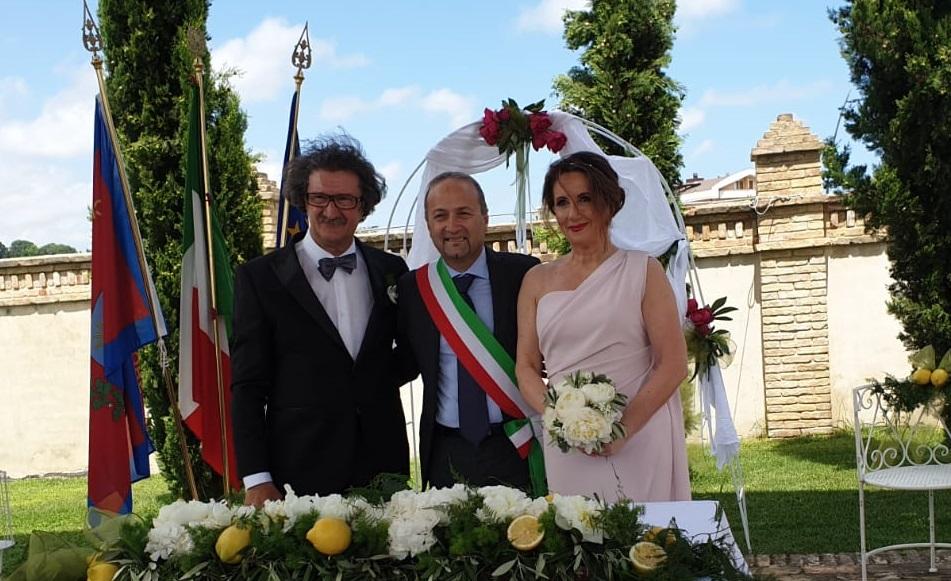 DI LORITO CELEBRA IL PRIMO MATRIMONIO IN UNA STRUTTURA RICETTIVA