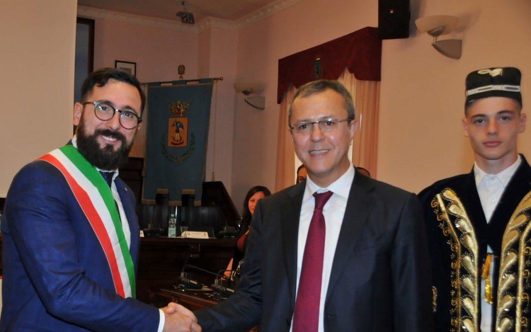 Città Sant'Angelo stringe un patto di amicizia con l'Uzbekistan