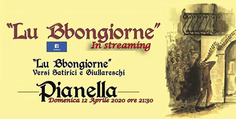 Pianella – Grande successo de LU BBONGIORNE in streaming trasmesso la notte di Pasqua