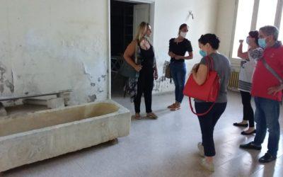 SPOLTORE: SOPRALLUOGO ALLA VILLA ACERBO PER I REPERTI ARCHEOLOGICI