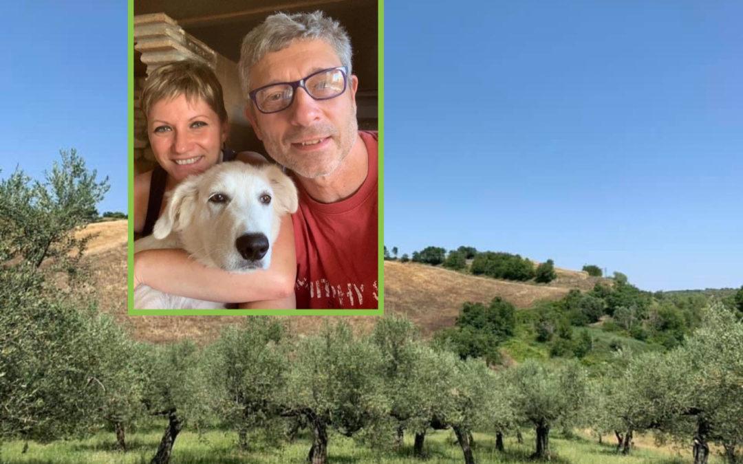 AZIENDA AGRICOLA CINEMA ALL'APERTO PER UNA SERA Loreto Aprutino: Domenica Sileo titolare di Agricola Colle Stelle, un omaggio all'Abruzzo e un modo diverso di guardare al futuro