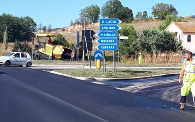 GIRO D'ITALIA, LA PROVINCIA PROVVEDE AL RIFACIMENTO DEL MANTO STRADALE