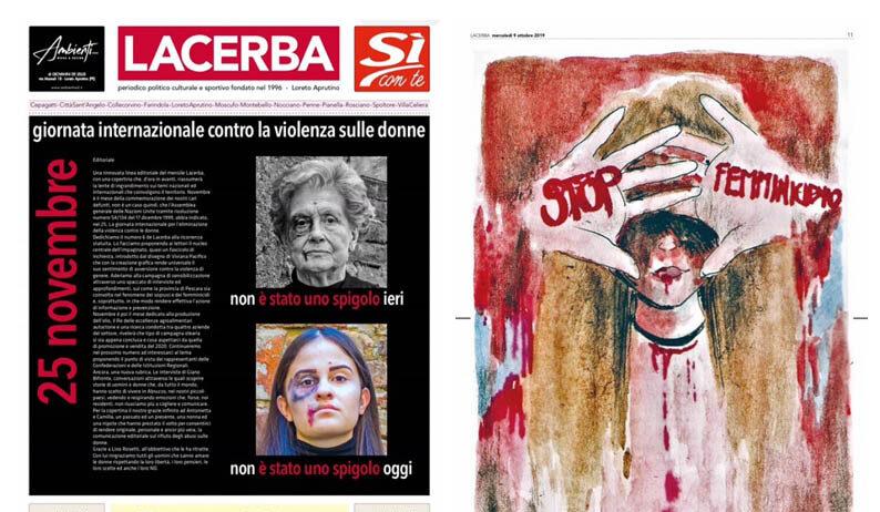 IL NOSTRO TERRITORIO DICE NO ALLA VIOLENZA SULLE DONNE