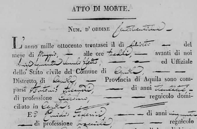 Salvatore DE ROCCO pittore pianellese
