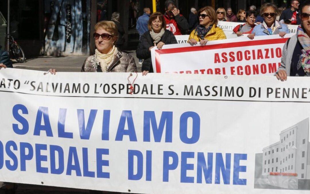 """PENNE: L'ASSOCIAZIONE SALVIAMO L'OSPEDALE DI PENNE """"SANTIFICAZIONE DELLA FIGURA DI SEMPRONI, IN REALTÀ C'È CONFLITTO DI INTERESSI"""""""