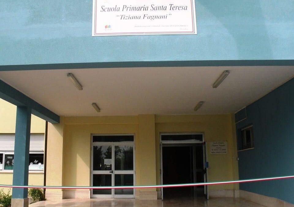 SPOLTORE: CHIUSURA DEL PLESSO SCOLASTICO DI SANTA TERESA  Cinque docenti risultati positivi al Covid 19