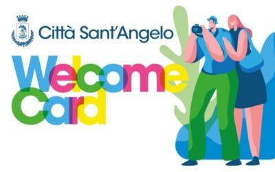 CITTA' SANT'ANGELO: ARRIVA LA WELCOME CARD  Una carta turistica che consentirà di avere uno sconto nelle attività economiche e commerciali che aderiranno