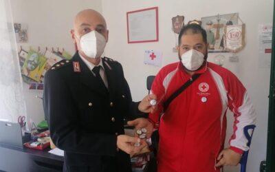 """SPOLTORE: LA POLIZIA LOCALE ADERISCE ALLA CAMPAGNA """"MI SONO VACCINATO"""" DI CROCE ROSSA"""