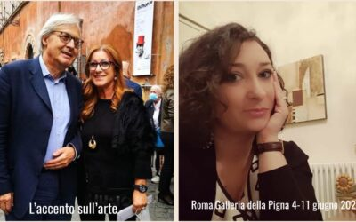 SGARBI PROMUOVE L'ARTE D'ABRUZZO  Mostra d'arte contemporanea con l'abruzzese Maria Assunta Martellone