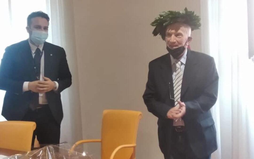 SI LAUREA A 85 ANNI, FRANCESCO PITOCCO È DI LORETO APRUTINO