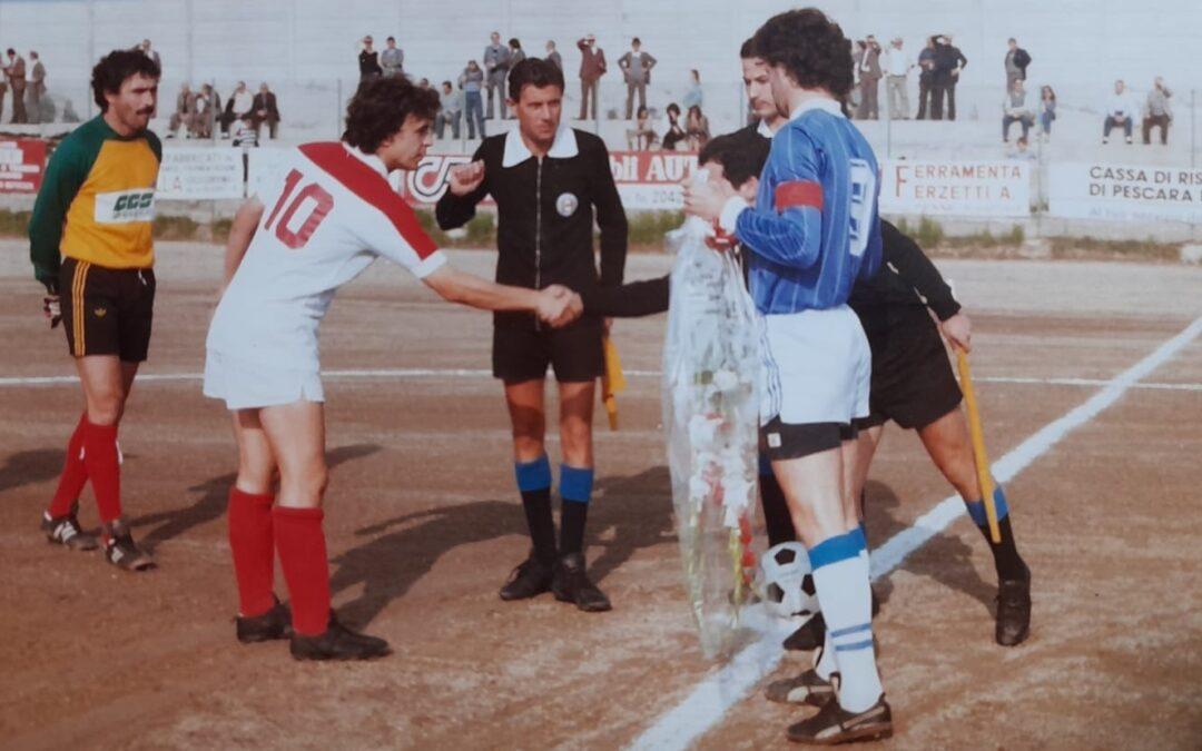 """AMARCORD PENNE CALCIO: QUANDO PARAVA AVAGLIANO  Dieci anni dopo lo scudetto con la Lazio, Pino si vestì di biancorosso """"Con il Lanciano fu tutto regolare"""""""