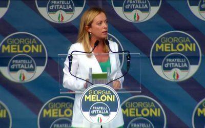 SPOLTORE: LA MELONI SBARCA FRATELLI D'ITALIA NELLA CITTADINA ABRUZZESE